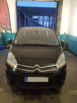 Recherche de panne (gratuit) - Remplacement débitmètre - Citroën C4 Picasso