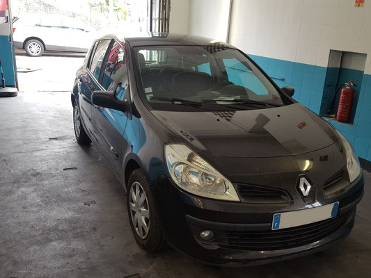 Remplacement batterie - Renault Clio III
