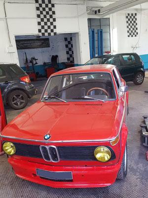 Pose radiateur habitacle - BMW 2002