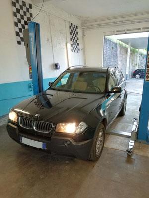 Remplacement commande électrique conducteur - BMW X3