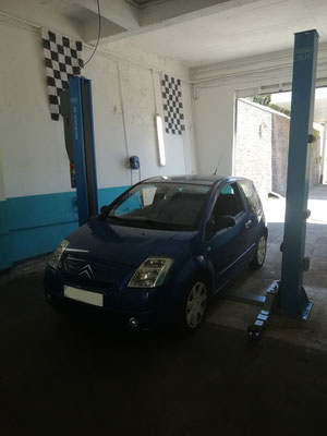 Vidange/filtre à huile - Citroën C2
