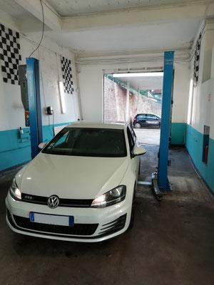 Entretien annuel + mise en place de hauts parleurs porte arrière (non câblé d'origine) - Volkswagen Golf VII