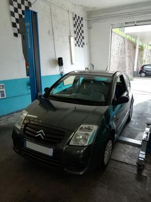 Remplacement turbo + kit distribution/pompe à eau/courroie accessoire - Citroën C2