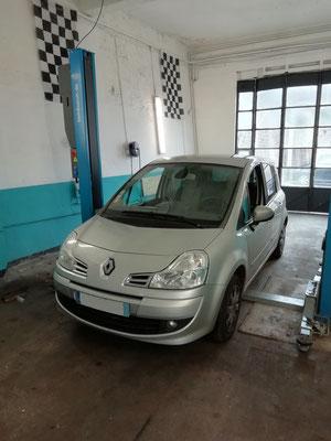 """Achat de 4 pneus """"MICHELIN ALPIN"""" - Renault Modus"""