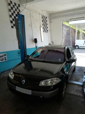 Remplacement kit distribution/pompe à eau/courroie accessoire + turbo/échangeur/pompe à huile + vanne EGR - Renault Mégane II