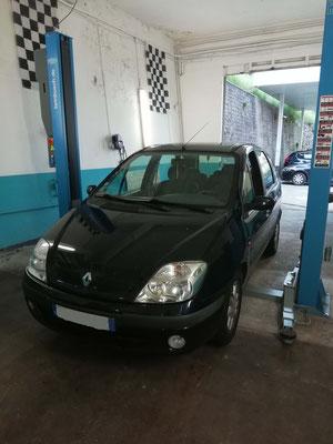 Pneus achetés au garage Drive Auto + géométrie - Renault Scénic