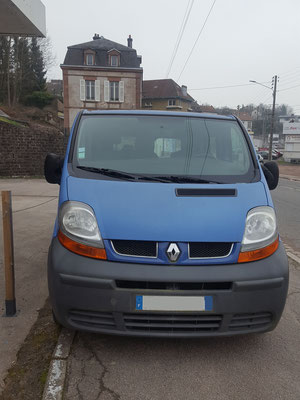 Remplacement rotule direction + axiale + inférieure - Renault Trafic