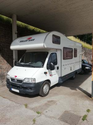 Remplacement kit distribution + roulement av + entretien annuel + plaquettes av + lève-vitre - Camping-Car Fiat Ducato