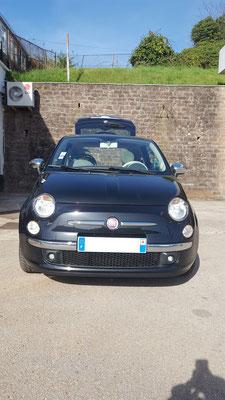 Changement lève-vitre et remplacement embase antenne - Fiat 500