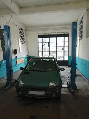 Remplacement boîte de vitesse (fournie par le client) + kit embrayage - Renault Twingo
