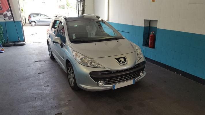Remplacement vanne EGR - Peugeot 207