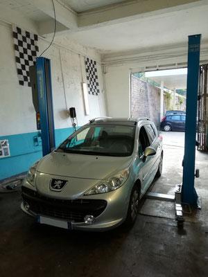 Remplacement distribution + pompe à eau + courroie accessoire - Peugeot 207 SW