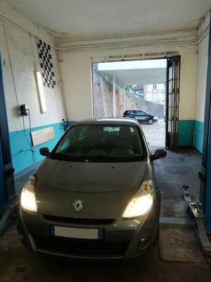 Remise en état ceintures de sécurité arrière - Renault Clio III