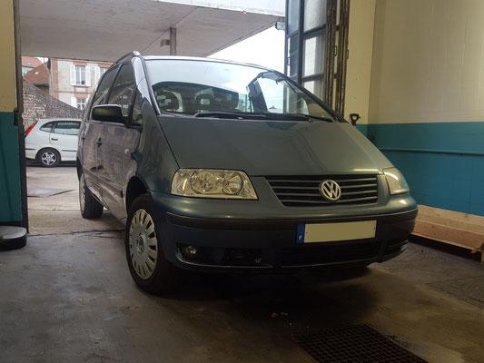 Distribution - Volkswagen Sharan