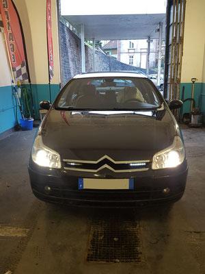 Remplacement sphères (fournies par le client) + 2 montages/équilibrages - Citroën C5