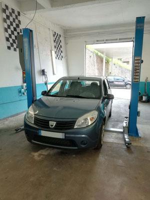 Entretien annuel + points de contrôle avant contrôle technique (offert) - Dacia Sandero
