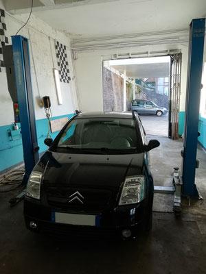 Remplacement kit embrayage + butée - Citroën C2