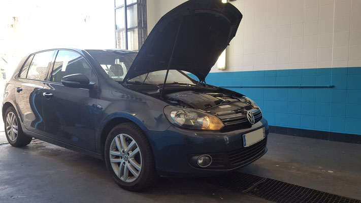 Distribution + embrayage - Volkswagen Golf VI