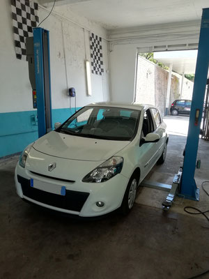 Remplacement disques/plaquettes AV - Renault Clio III