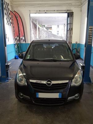 Entretien complet - Opel Agila