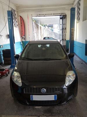 Remplacement turbo + vanne EGR - Fiat Grande Punto