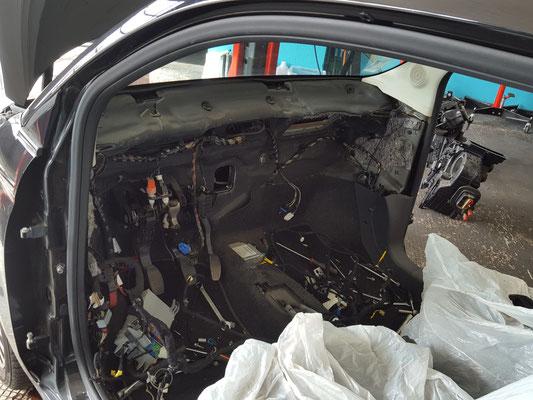 Remplacement bloc chauffage complet sur Fiat 500
