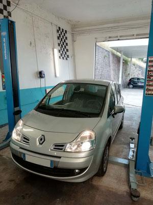 Remplacement pare-brise - Renault Modus