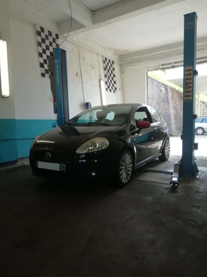 Permutation roues - Fiat Punto Abarth
