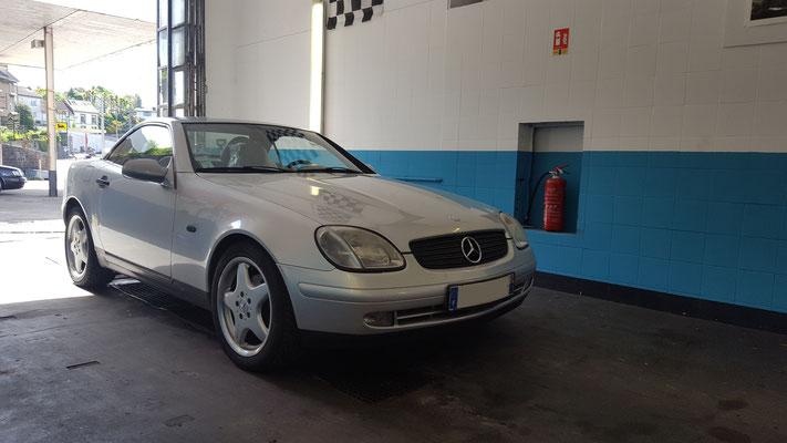 Remplacement rotules inférieures - Mercedes SLK
