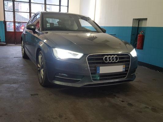 Recherche de panne chauffage + entretien complet + pneus hiver - Audi A3