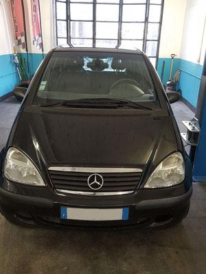 Pneus achetés au garage Drive Auto + remplacement silencieux échappement - Mercedes classe A