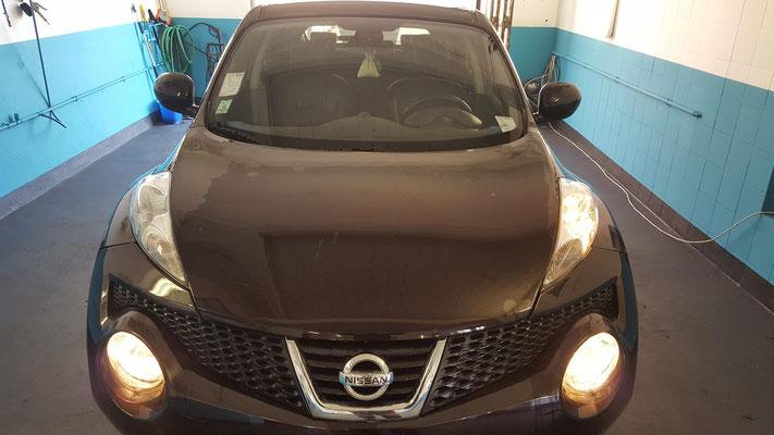 Entretien sur Nissan Juke