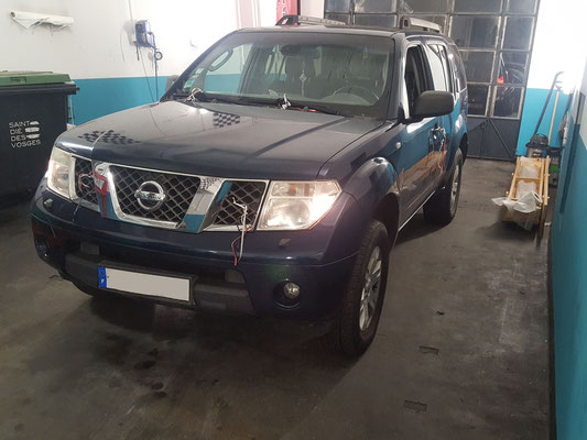 Remplacement embrayage + volant moteur - Nissan Pathfinder