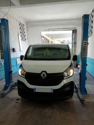 Check-up avant départ en vacances - Renault Trafic