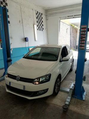 Remplacement batterie - Volkswagen Polo