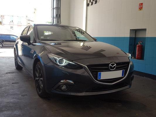 Pose attelage + faisceau - Mazda III