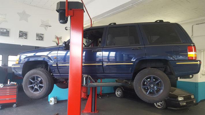 Remise en état boîte de transfert Jeep - Grand Cherokee V8