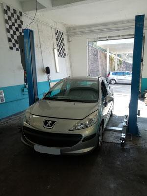 Entretien complet + à venir, kit distribution/pompe à eau/courroie accessoire - Peugeot 207