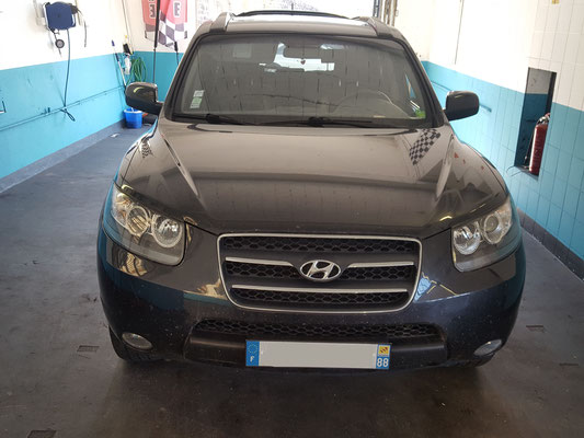 plaquettes av + ar - Hyundai Santa fé