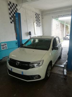 Entretien annuel avec garantie constructeur préservée - Dacia Sandero
