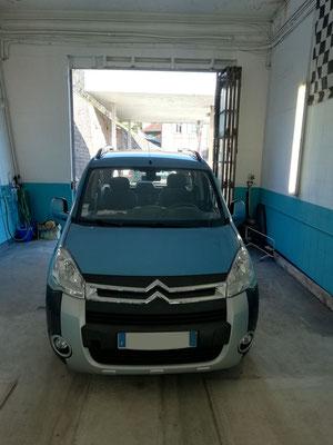 Recherche de panne : remplacement de la résistance du pulseur d'air - Citroën Berlingo
