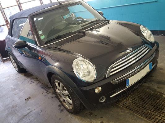 Pneus achetés au garage Drive Auto + remplacement batterie - Mini cabriolet