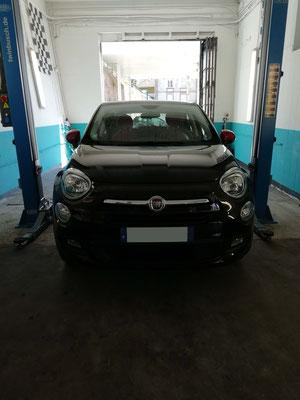 Permutation roues été/hiver - Fiat 500X