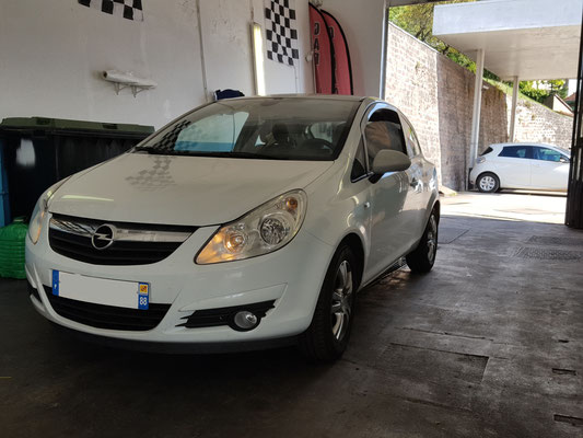 Remplacement bougies - Opel Corsa