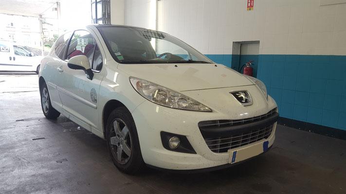 Remplacement roulement AV - Peugeot 207