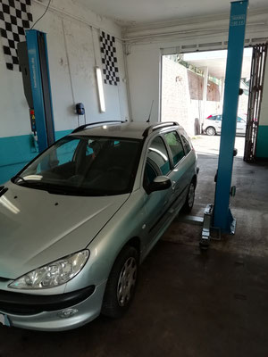 Remplacement turbo - Peugeot 206 SW