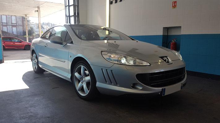 Recherche de panne - Manque de puissance Peugeot 407 coupé