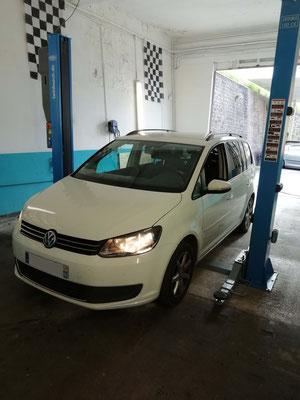 Remplacement disques et plaquettes - Volkswagen Touran