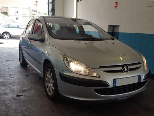Remplacement silencieux échappemement - Peugeot 307