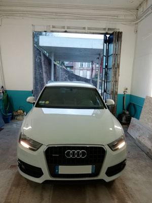 Remplacement disques et plaquettes AV - Audi Q3